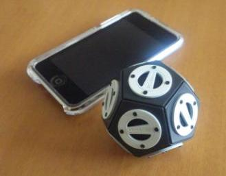 3D SOUND SPEAKER 3D-016 with iPhone